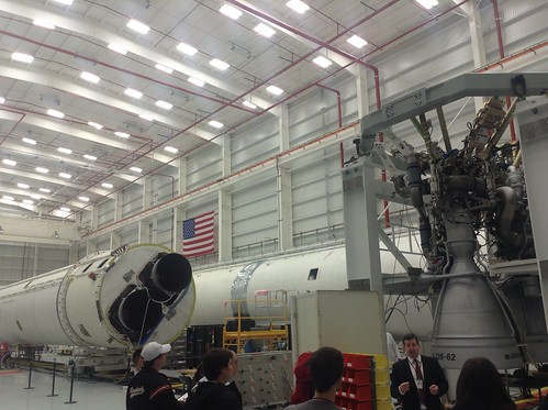 Orbital Sciences Antares Horizontal Integration Facility