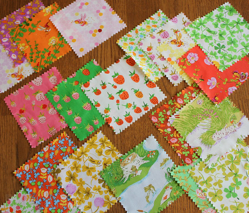 Heather Ross - Briar Rose for Windham Fabrics.