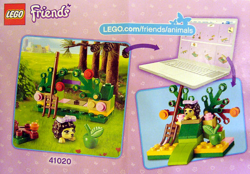 Heartlake Times Lego Friends Hedgehogs Hideaway Review