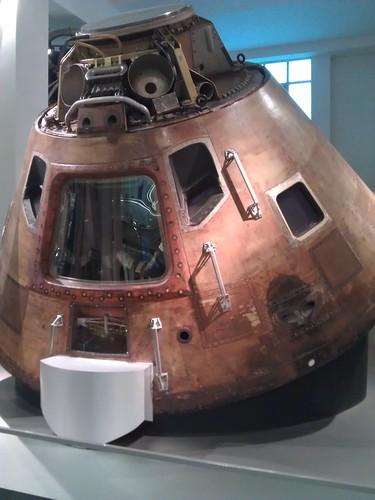 Apollo 10 capsule - Science Museum London April 2013