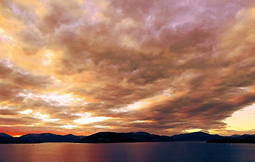 sky panorama mountains clouds landscape scotland scenery dramatic hills gourock ecosse kilcreggan clydecoast stronepoint cowalpeninsula firthoftheclyde canonpowershotsx50hs