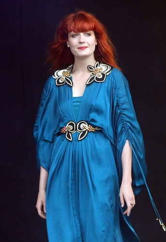florence-welch-blue-dress