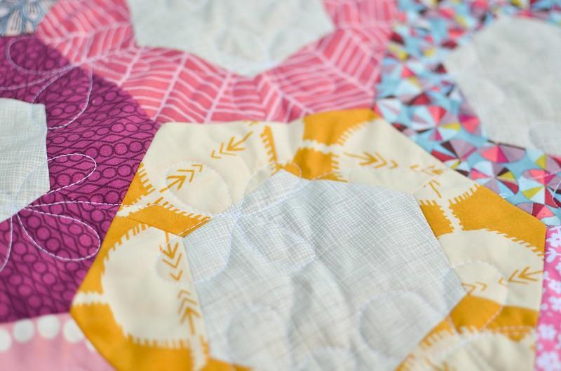 bangles quilt closeup