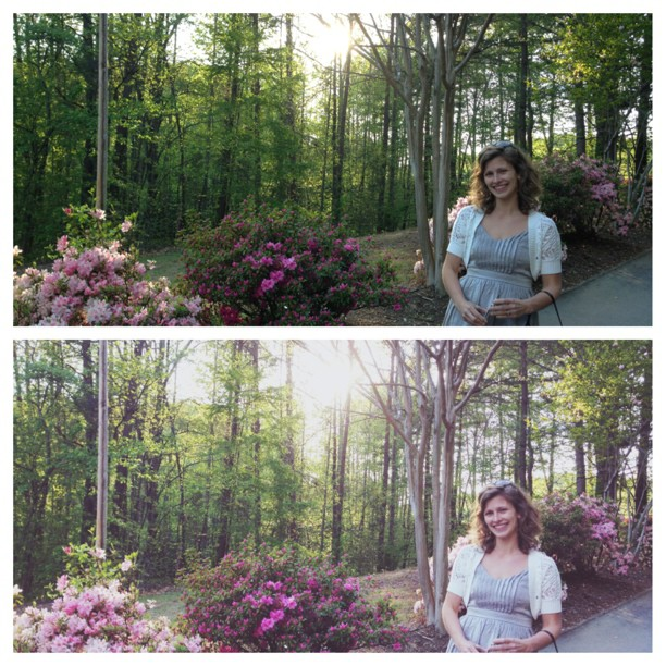 Just downloaded the #pictapgo app and it's instantly my favorite photo editing app. Here's an example of before & after.