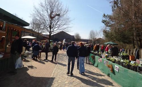 Pflanzenmarkt Freilichtmuseum Kiekeberg 21.4.2013