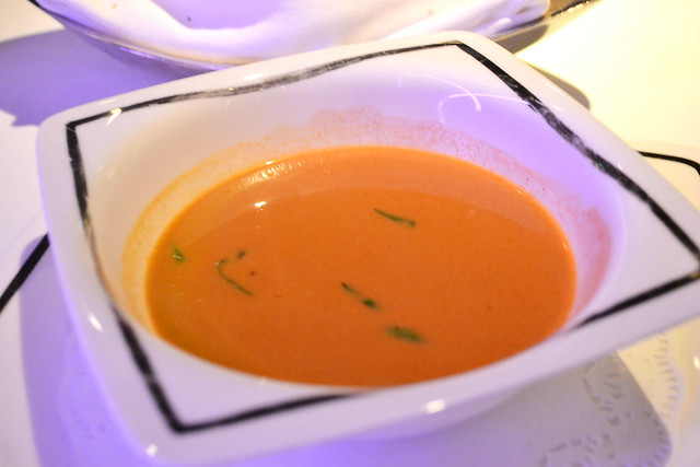 Lobster Bisque, Alkaff Mansion Ristorante