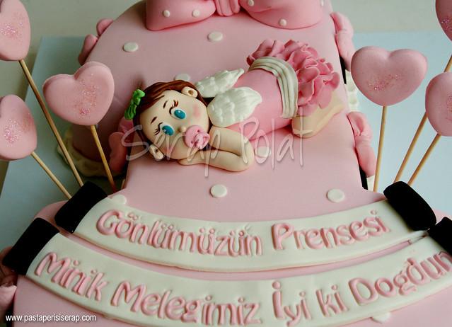 minnie mouse 1 yaş pastası