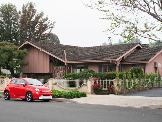 The Fiat 500e The Brady Bunch House Flickr Photo