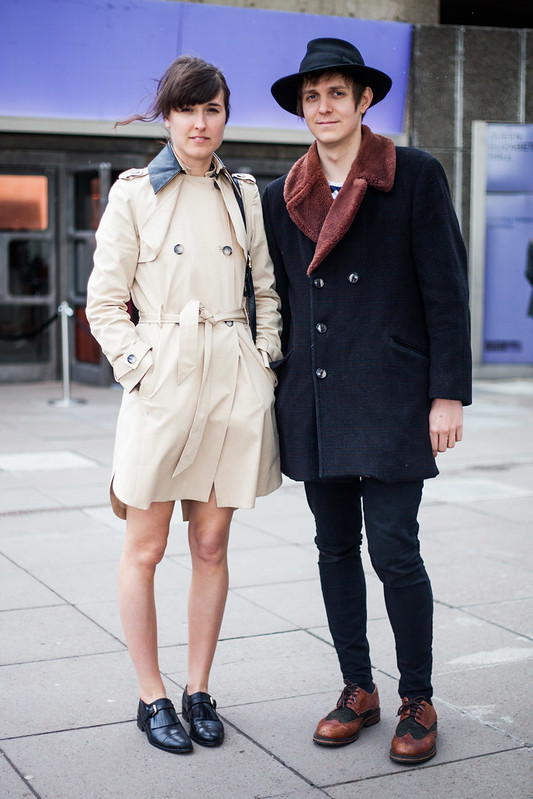 Street Style - Jessica & Joey, Vogue Festival