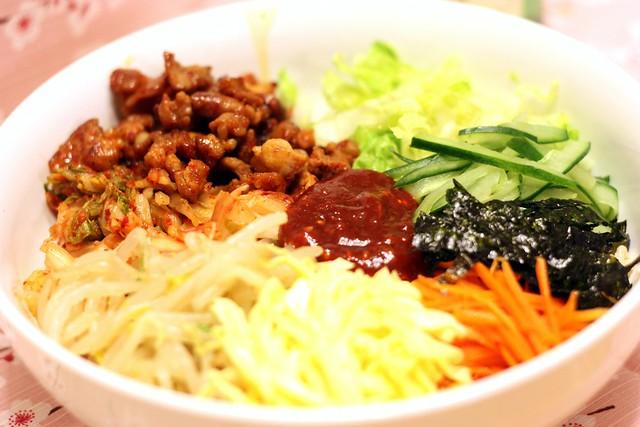 韓式泡菜豬肉拌飯  BiBimBap2