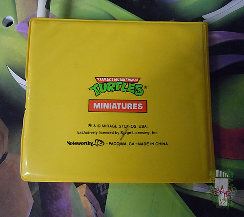 NOTEWORTHY :: TEENAGE MUTANT NINJA TURTLES 'MINIATURES'; NOTE PAD iii (( 1990 ))