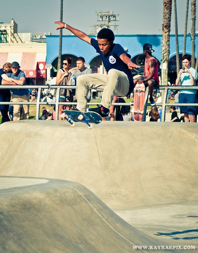 Eli Franklin 4-27-13 at Venice Skatepark