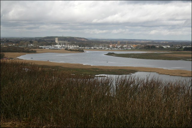 View over Christchurch Harbour