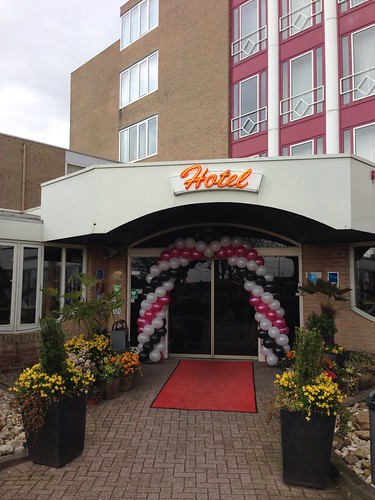 Ballonboog 6m 25 Jarig Jubileum Carlton Oasis Hotel Spijkenisse