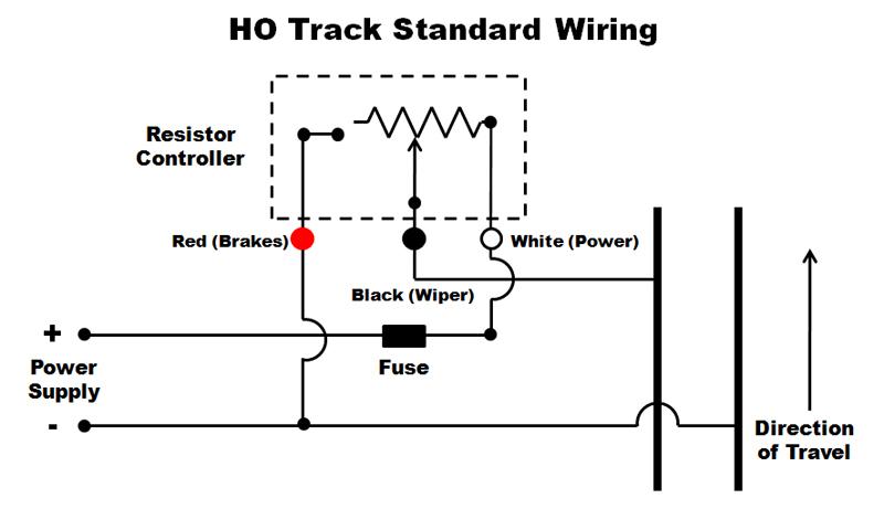 lifelike track - controller options - slot car illustrated ... slot car motor wire diagram wiring ho slot car