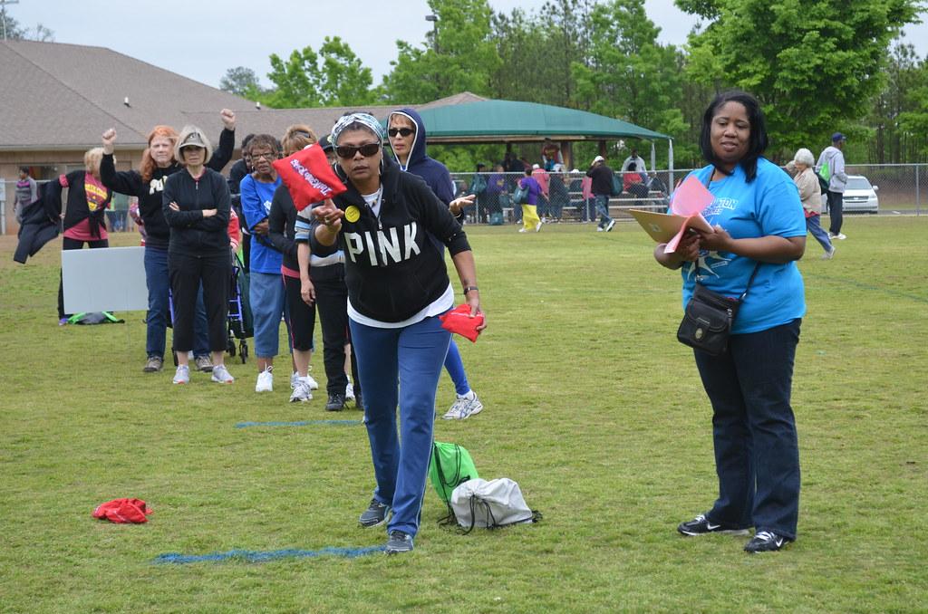 2013 North Fulton Golden Games Opening Ceremonies in Johns Creek