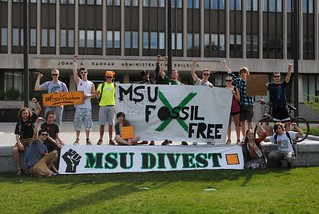 Divestment Day of Action, Michigan State University, May 2nd 2013