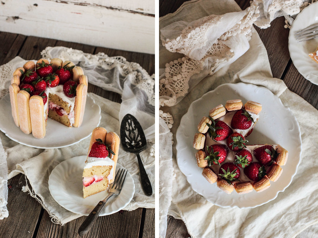 Pastry Affair | Strawberry Charlotte