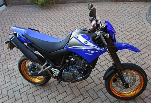 New Toy & Birthday treat ! Yamaha XT660X by Kinzler Pegwell