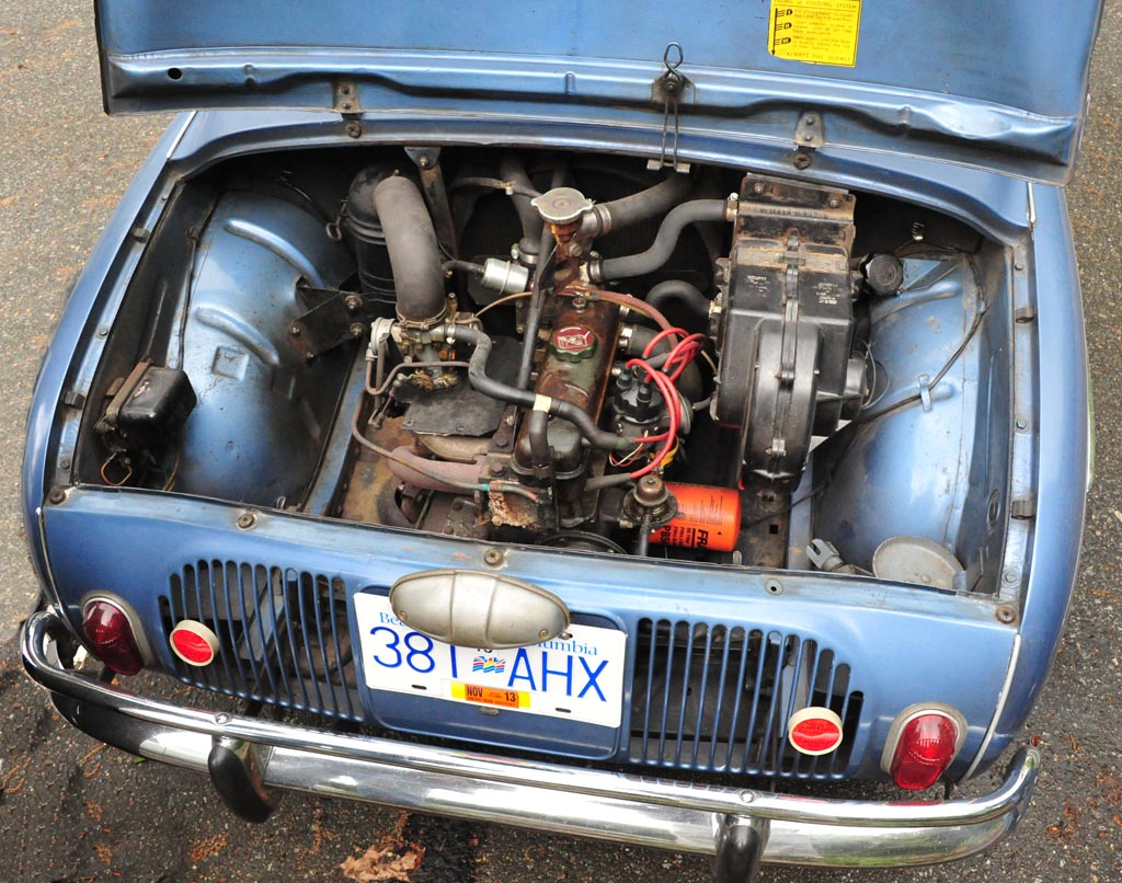 1966 Renault Dauphine Gordini Engine Flickr Photo Sharing