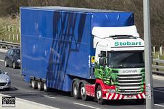 Scania R440 6x2 Tractor - PK11 NLJ - Muriel Rosa - Eddie Stobart - M1 J10 Luton - Steven Gray - IMG_7822