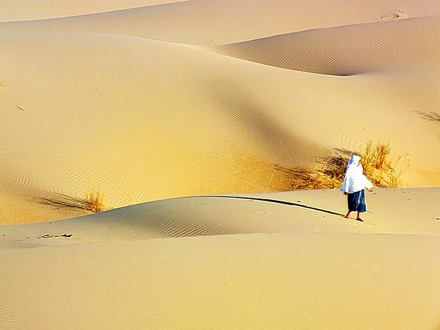 Alone! Algeria.