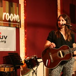 Mon, 03/06/2013 - 8:38pm - KT Tunstall with an audience of WFUV Members, June 3, 2013. Hosted by Carmel Holt. Photo by Laura Fedele
