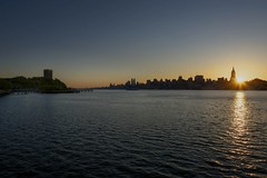Sunrise Over The Hudson