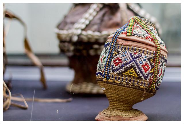 Detalle de decoración de una vasija