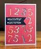 PB Birthday Card w. Numbers