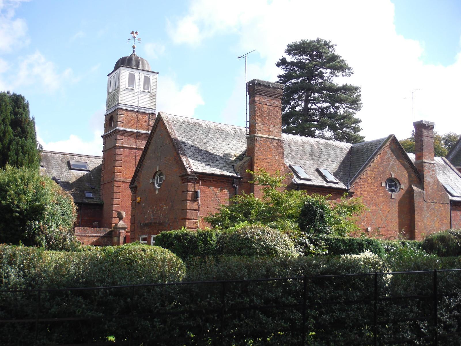 Clocktower, Lilies, Weedon SWC Walk 194 Aylesbury Vale Parkway to Aylesbury