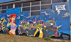 Montauban, graffiti - Photo of Monbéqui
