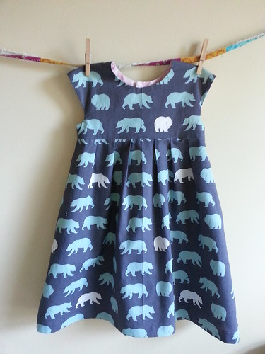 Geranium dress - bears