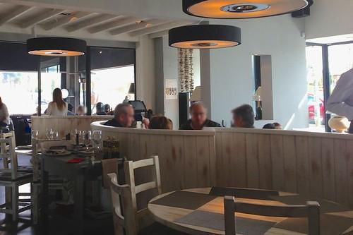 Vista del comedor - Restaurante Lounge En copa de balón