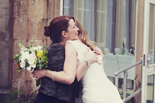 Louise and Helen, a 2012 bride