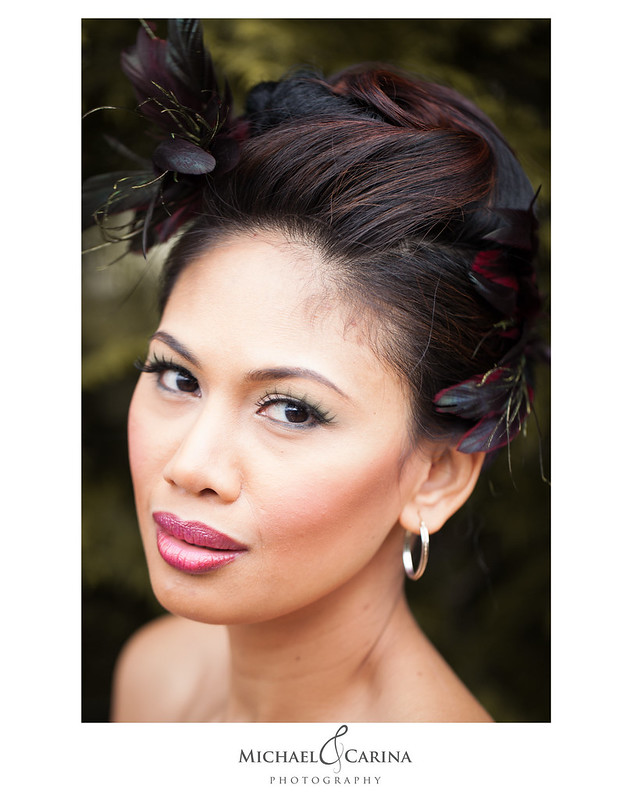 Theresa Little Makeup Artistry | Hair by Alice | Michael and Carina Photography