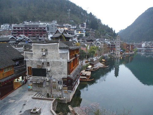 Hunan13-Fenghuang-Ville-Rive Nord (66)
