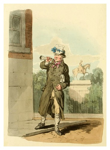 012- Vendedor de periodicos- Picturesque representations of the dress and manners of the English-1813-William Alexander