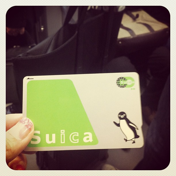 My very first Suica for getting around the city!  #tokyo #ichigonewjourney