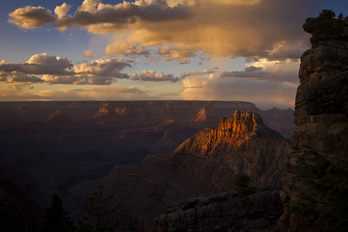 Grand Canyon sunset - 3-31-13  01