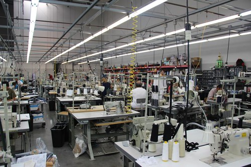 Citizens of Humanity Factory Tour
