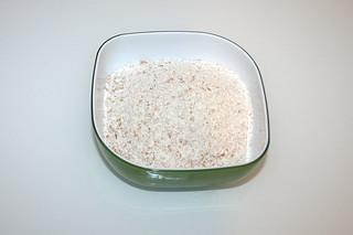02 - Zutat Vollkornmehl / Ingredient whole-grain flour