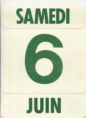 calendrier  6