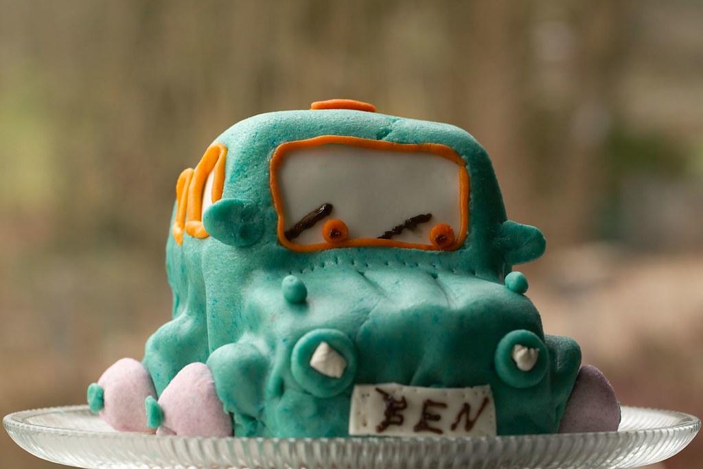 Ein Autokuchen