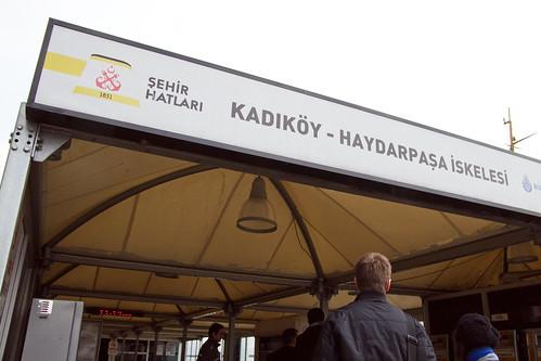 Heading to Kadıköy