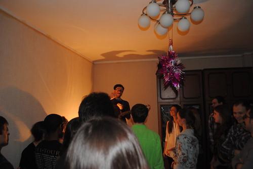 Flatnik Show N Tell Party