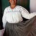Enriqueta en traje de los Mixes; Espiritú Santo Tamazulapan, Región Mixes, Oaxaca, Mexico por Lon&Queta