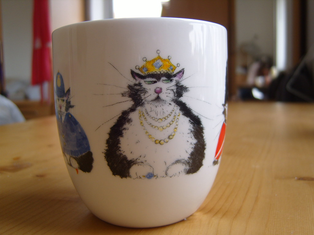 National Trust Cat Mug 2