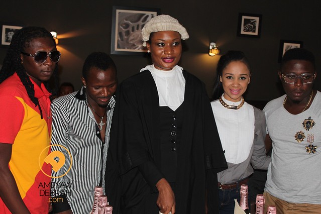 8644472553 1386c54140 z Hot & FAB: Exclusive photos from Sandra Ankobiahs star studded call to the bar party!