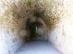 L'intérieur de la chapelle de San Quilicu